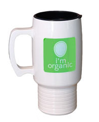 Cornstarch Coffee Travel Mug